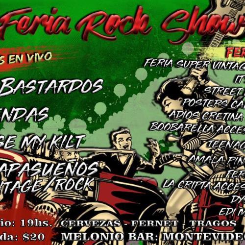 Raise My Kilt en la Feria Rock Show 2