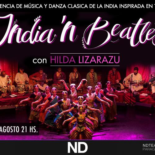 INDIA'N BEATLES junto a Hilda Lizarazu