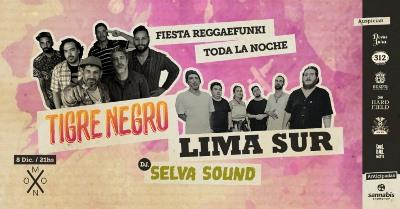 Tigre Negro + Lima Sur