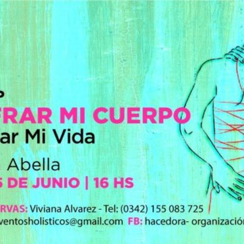 """KARINA ABELLA presenta """"Descifrando mi cuerpo para sanar mi vida"""" en Santa Fe"""