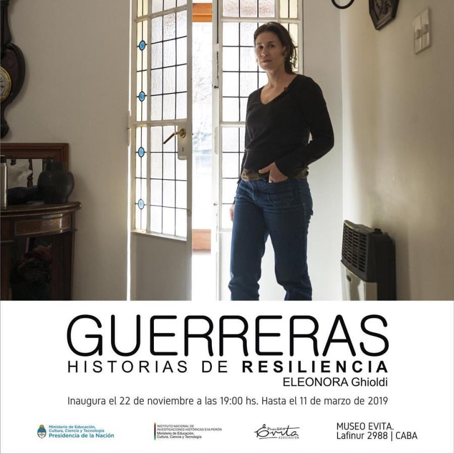 """""""Guerreras. Historias de resiliencia"""" de Eleonora Ghioldi"""