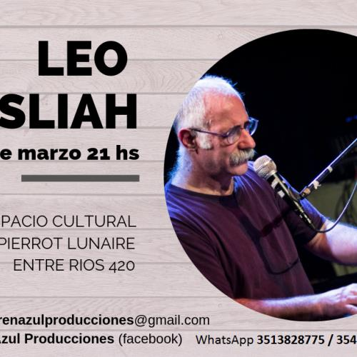 Leo Masliah piano concert