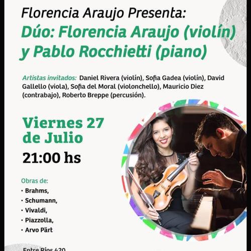 Florencia Araujo, Pablo Rocchietti e Invitados!
