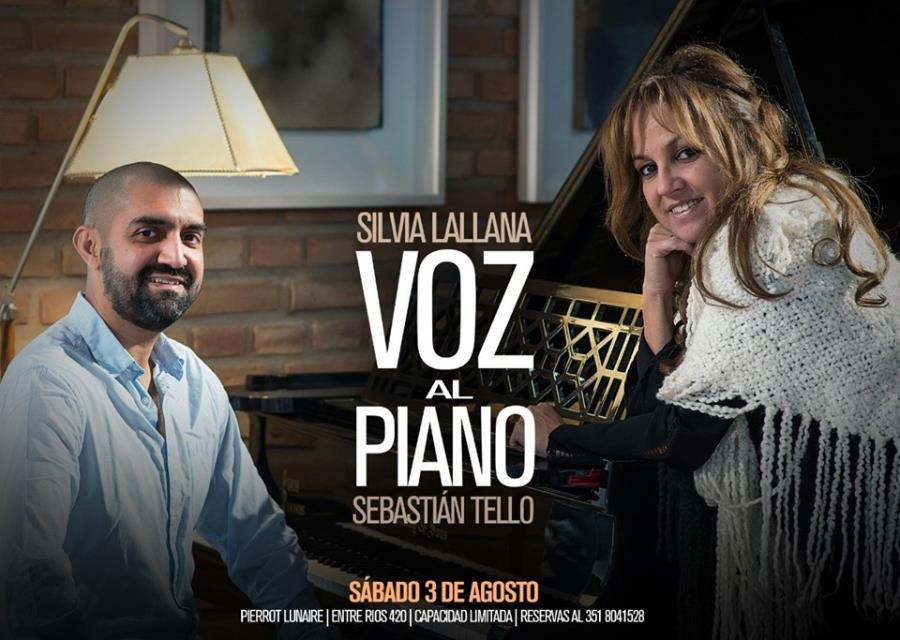 Silvia Lallana-Voz al Piano-Sebastian Tello