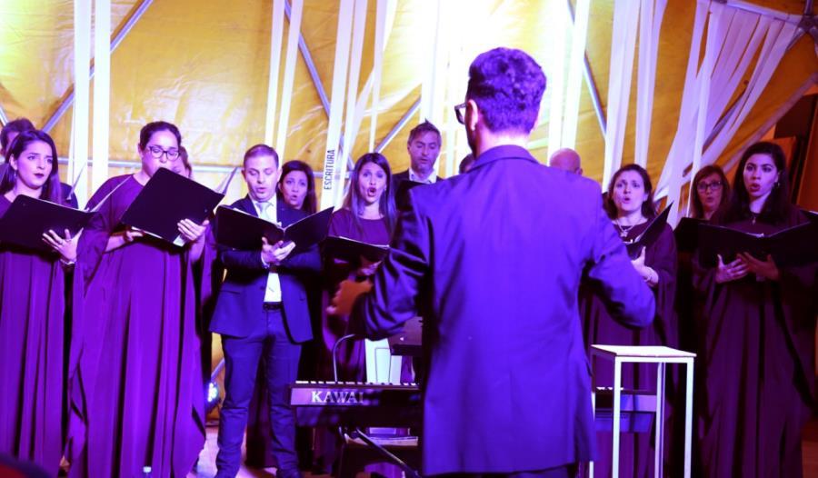 El Coro Municipal en la Iglesia Compañía de Jesús