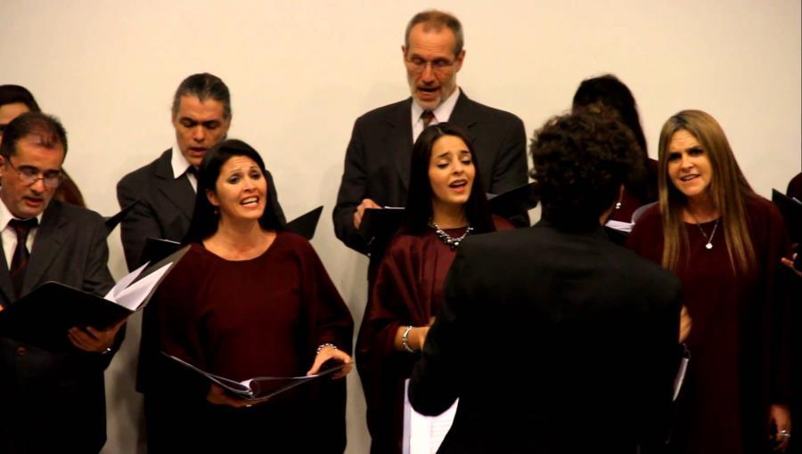 Presentación del Coro Municipal