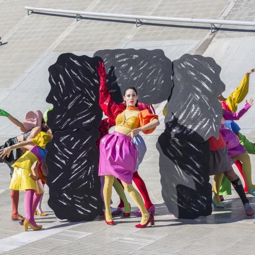 """""""La Carcajada de los Misteriosos"""" del elenco de Danza Teatro"""