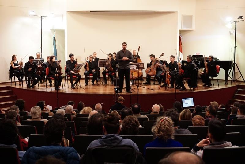 Actuación de la Orquesta Municipal de Cuerdas