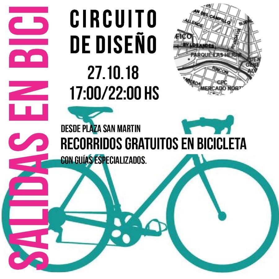 Salidas en Bici - Circuito de Diseño