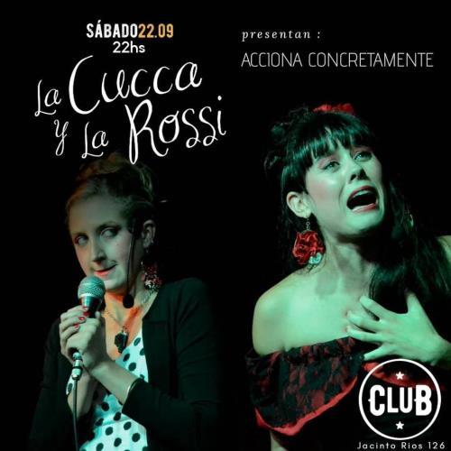 La Cucca y la Rossi en el Fernet Club