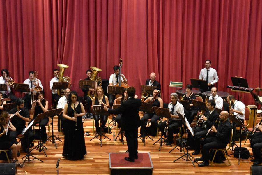 La Banda Sinfónica en Villa del Rosario