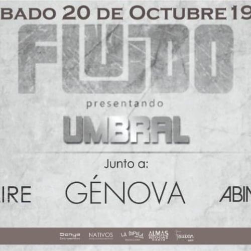 """FLUIDO ¡ Presenta """"Umbral"""" en SAN JUSTO !"""