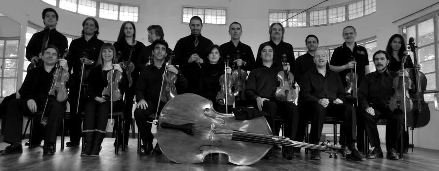 La Orquesta Municipal de Cuerdas en Marques de Sobremonte