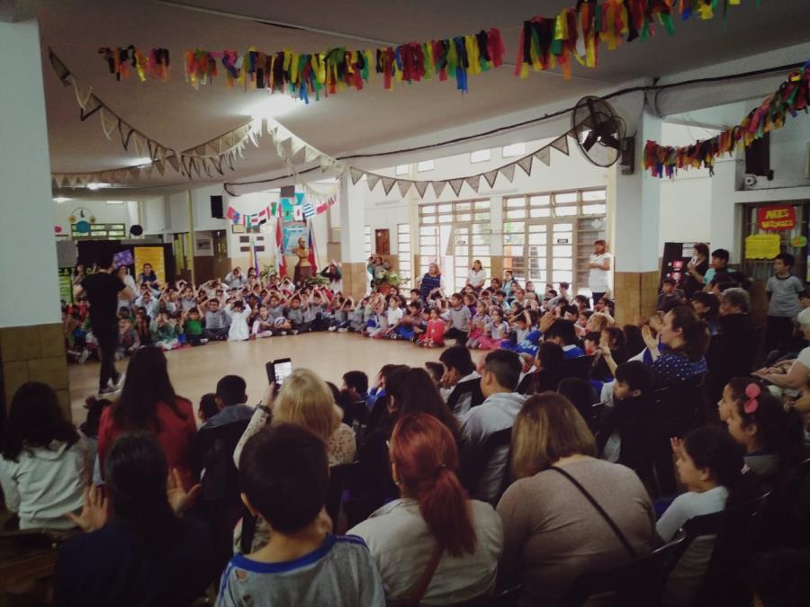 El Coro Municipal en Barrio Marqués de Sobremonte