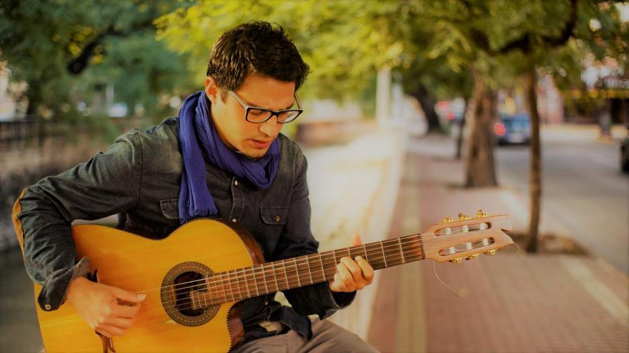 Fer Romero en el circuito Música al Paso