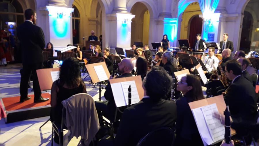 La Banda Sinfónica Municipal en Isla Verde