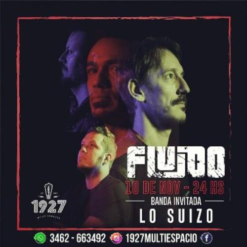 """FLUIDO ¡ Presenta """"Umbral"""" en VENADO TUERTO !"""