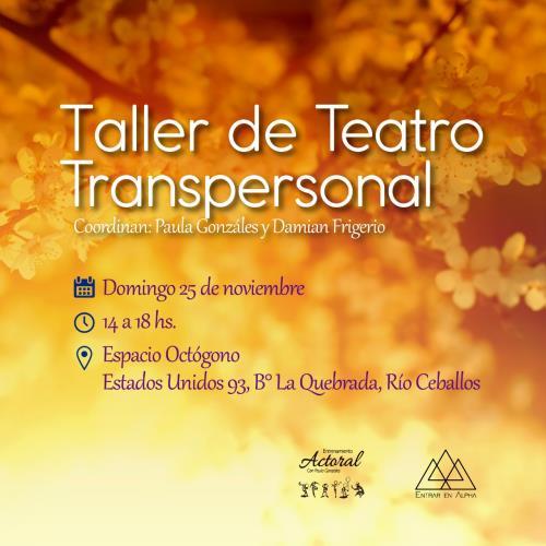 Taller Teatro Transpersonal