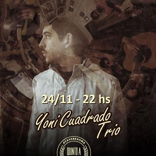 Yoni Cuadrado Trio en Quinto A