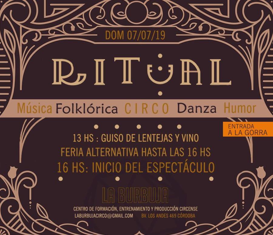 Ritual - Varieté Circense con raíz folklórica