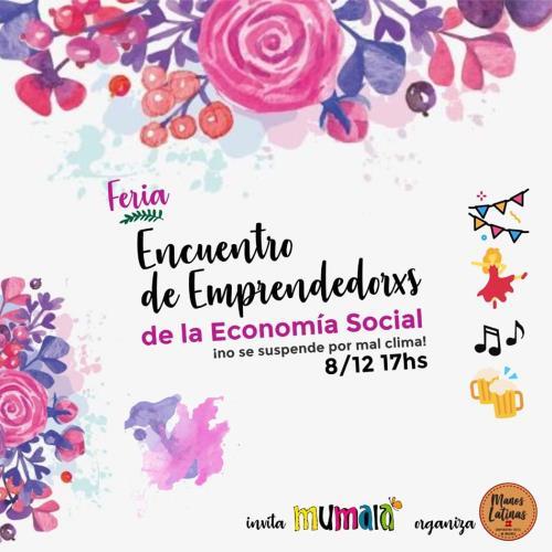 1° Encuentro De Emprendedorxs De La Economía Social
