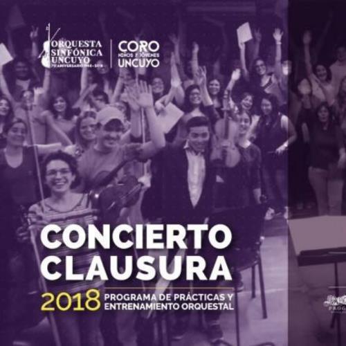 Concierto Jóvenes del Entrenamiento Orquestal y Coro CNJ UNCuyo
