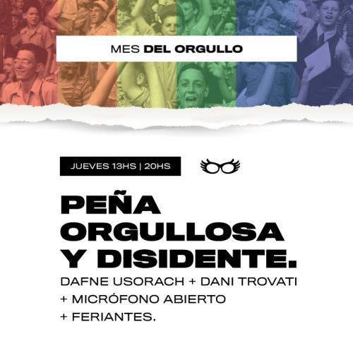 Peña orgullosa y disidente