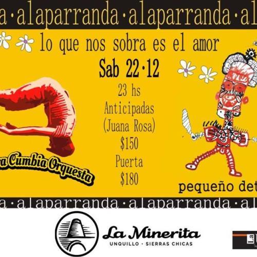 AlaParranda: La Garrotera + Pequeño detalle