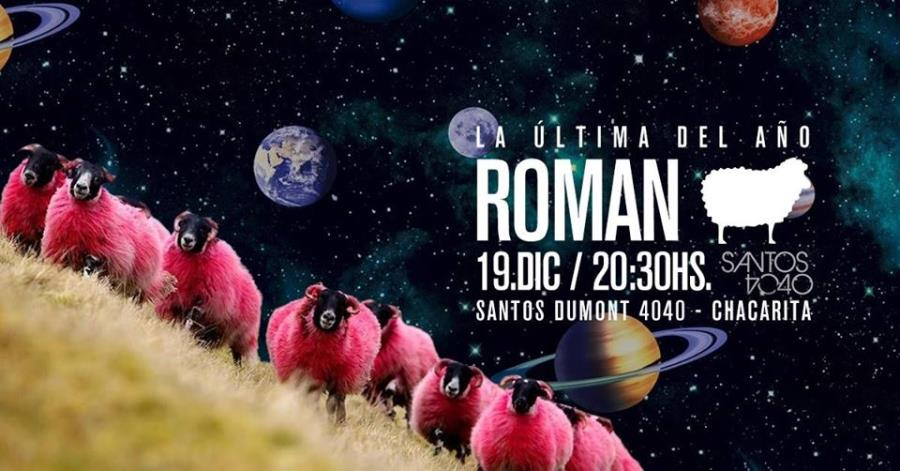 Roman en Santos 4040 - Última del año