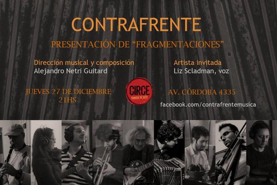 """Contrafrente presenta """"Fragmentaciones"""""""