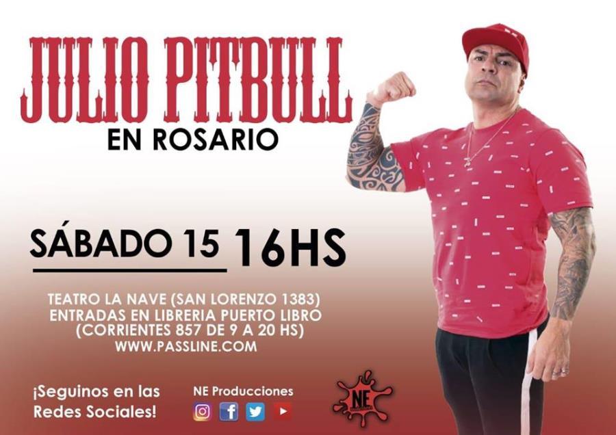 Julio Pitbull en Rosario - Influencer