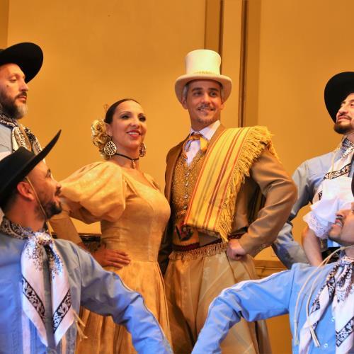 Espectáculo del Ballet Municipal