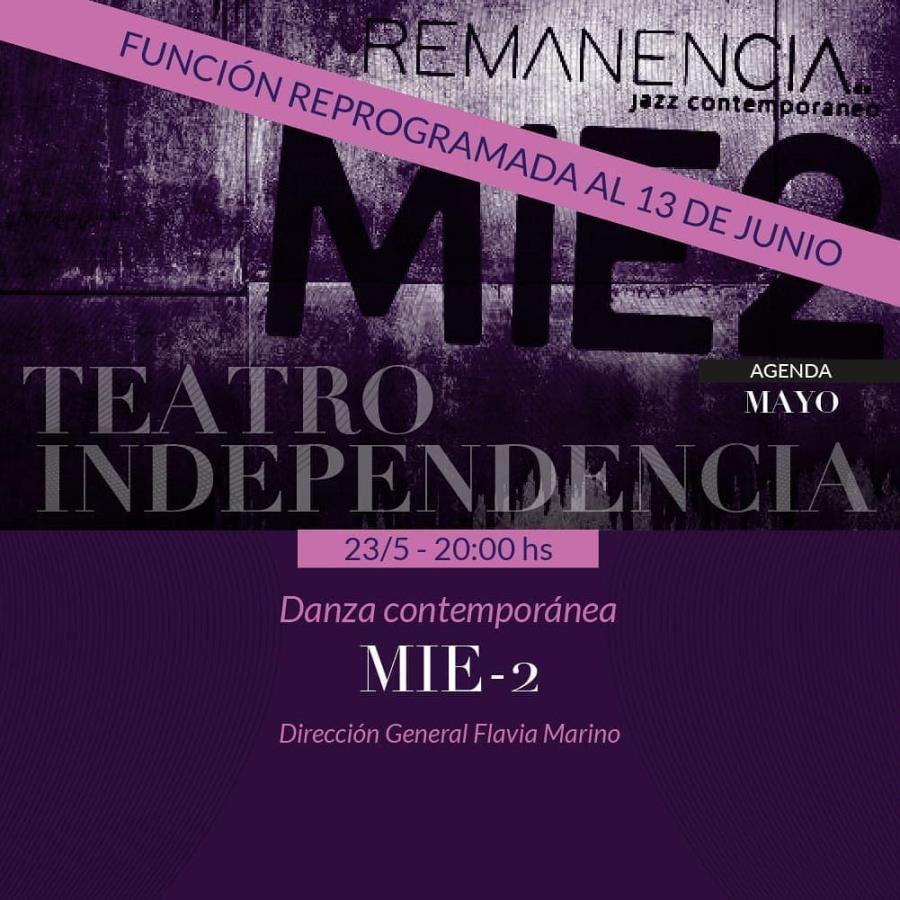 Remanencia: MIE2 ❌REPROGRAMADO❌