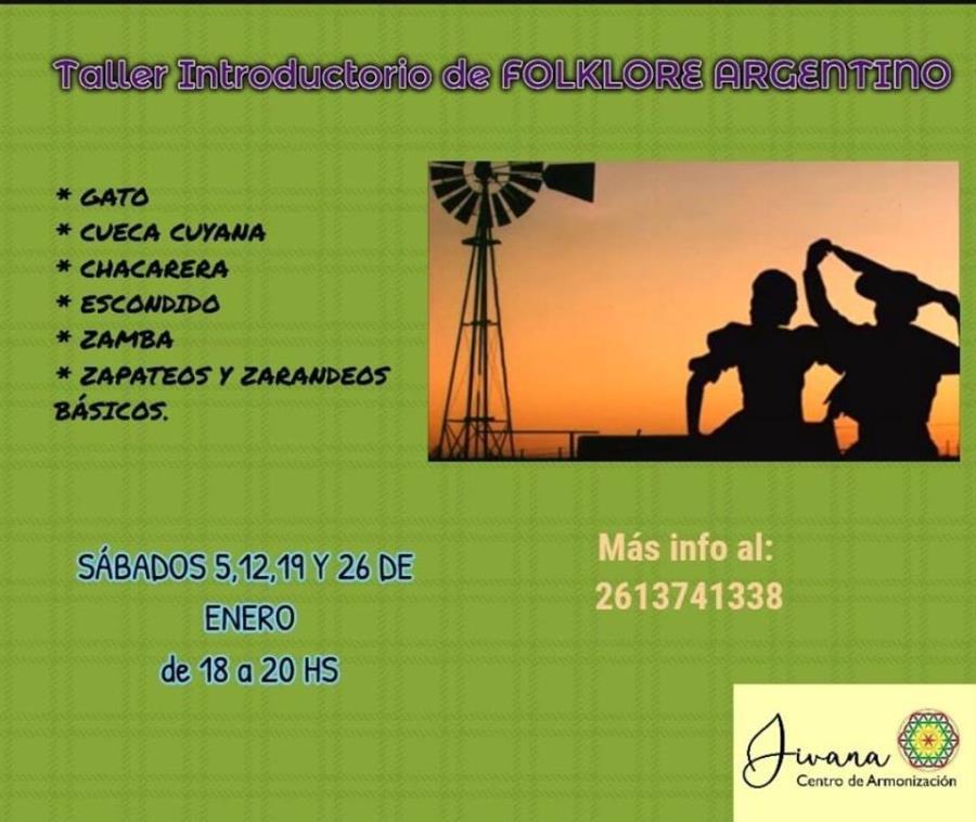 Taller introductorio de folklore argentino