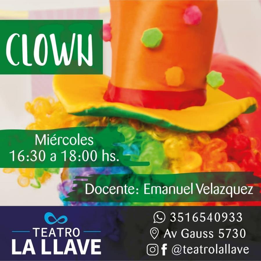 """Taller de clown """"Mas alla de la risa"""""""