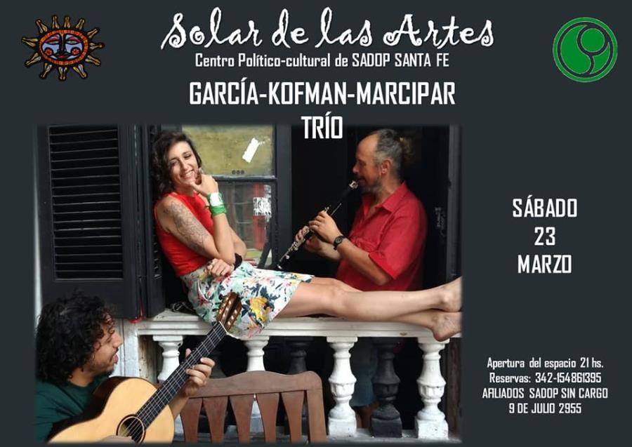 GARCÍA-KOFMAN-MARCIPAR TRÍO