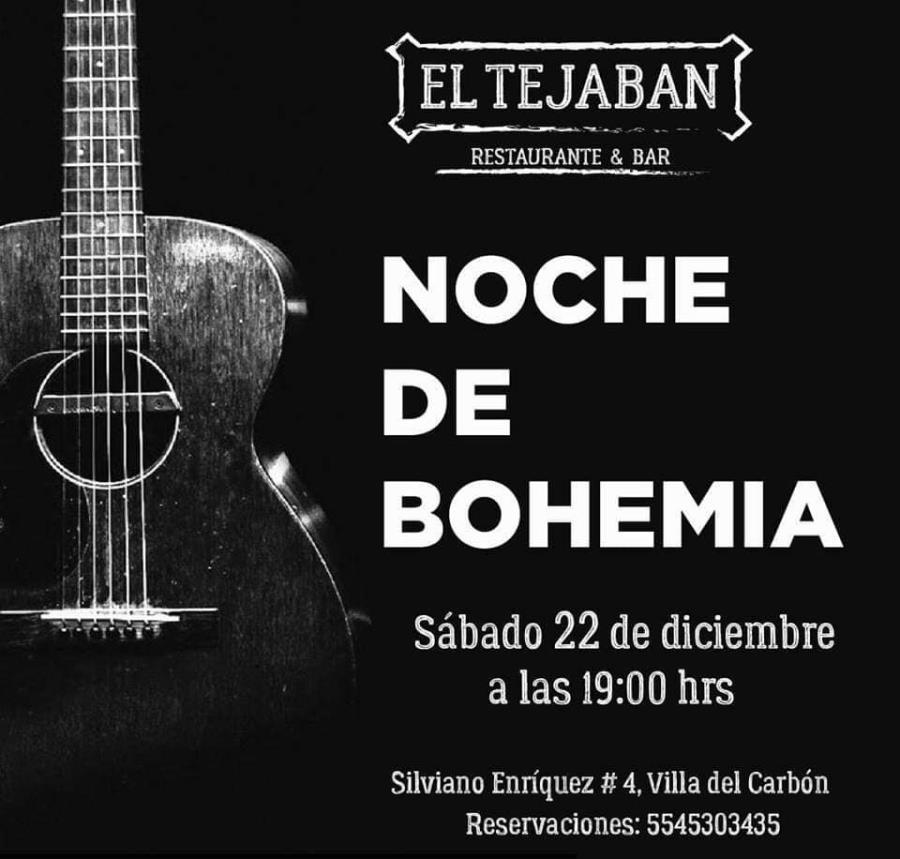 Noche bohemia en Tejaban
