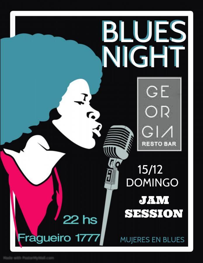 Noche de Mujeres en Blues