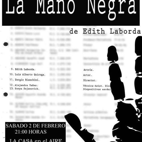 La Mano Negra Ditirambo Teatro
