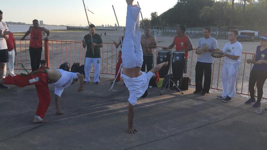 Taller de Capoeira en Enero en Santa Fe