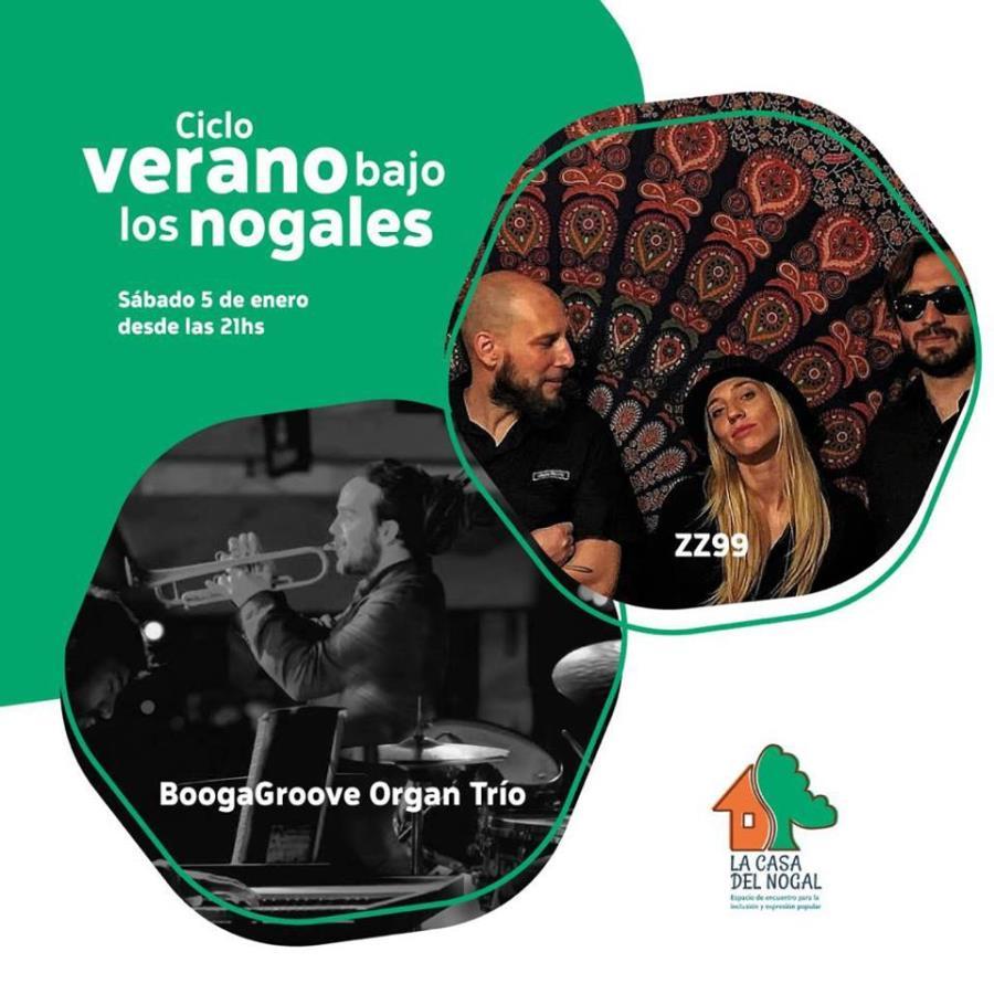 BoogaGroove y ZZ99 en Verano bajo los Nogales