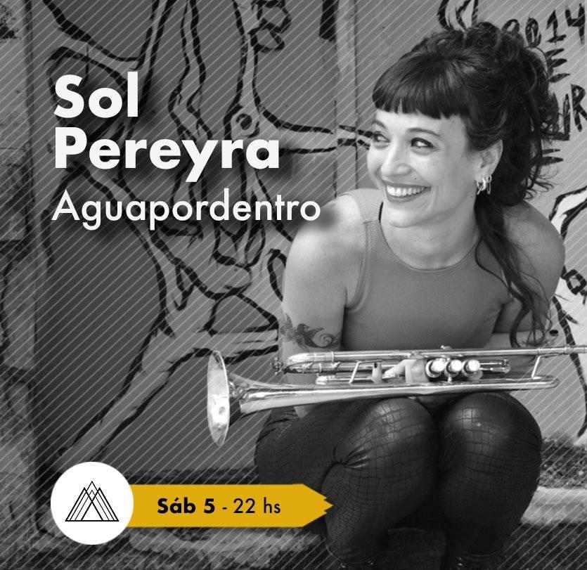 Sol Pereyra y Aguapordentro en Montañitas Birras y Arte