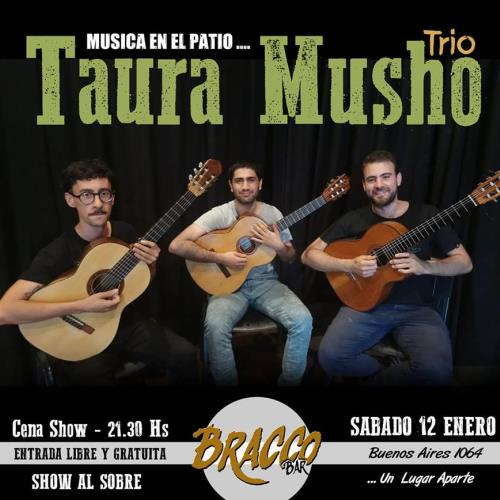 CENA SHOW CON TRÍO TAURA MUSHO