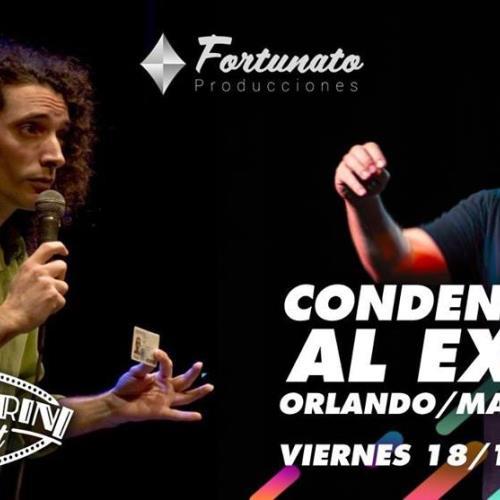 Condenados (al éxito) Viernes de Stand Up en Pellegrini Concert