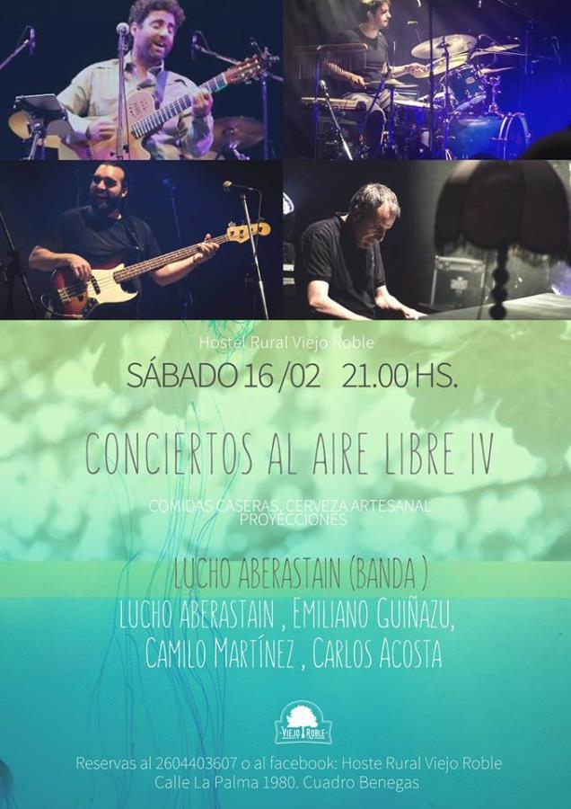 Conciertos al aire libre IV: Lucho Aberastain (banda)