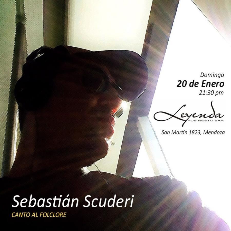 """Sebastian Scuderi """"Canto al Folclore"""" -EN VIVO"""