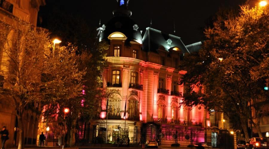 Avenida Alvear Nocturna