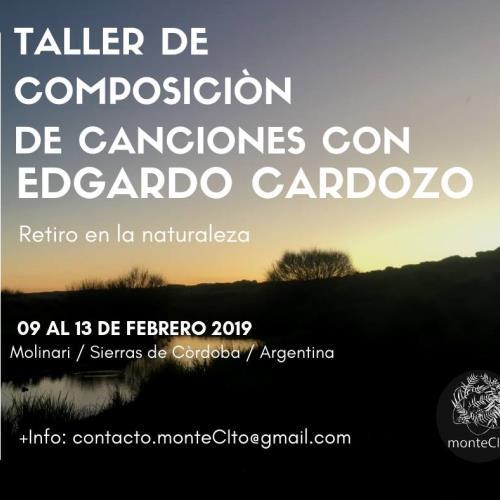 Taller de Composición de Canciones con Edgardo Cardozo