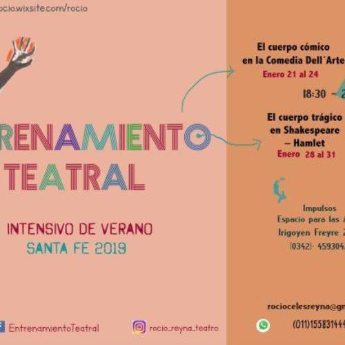 Entrenamiento Teatral