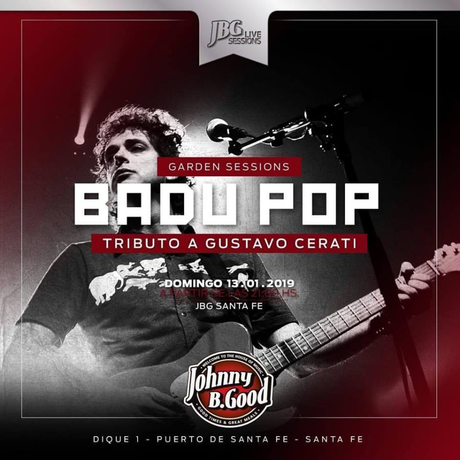 Gustavo Cerati Tributo a la Carta vivo en Johnny B. Good!
